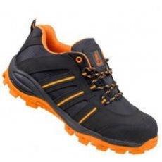 Urgent betét nélküli cipő Tracker 261 OB fekete-narancs